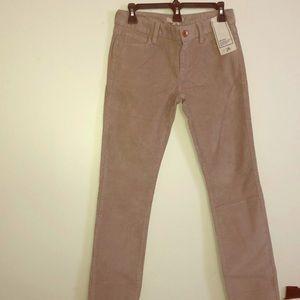 Corduroy pants....
